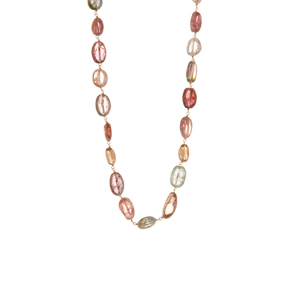 Multi Color Spinel Necklace - Sofia Jewelry