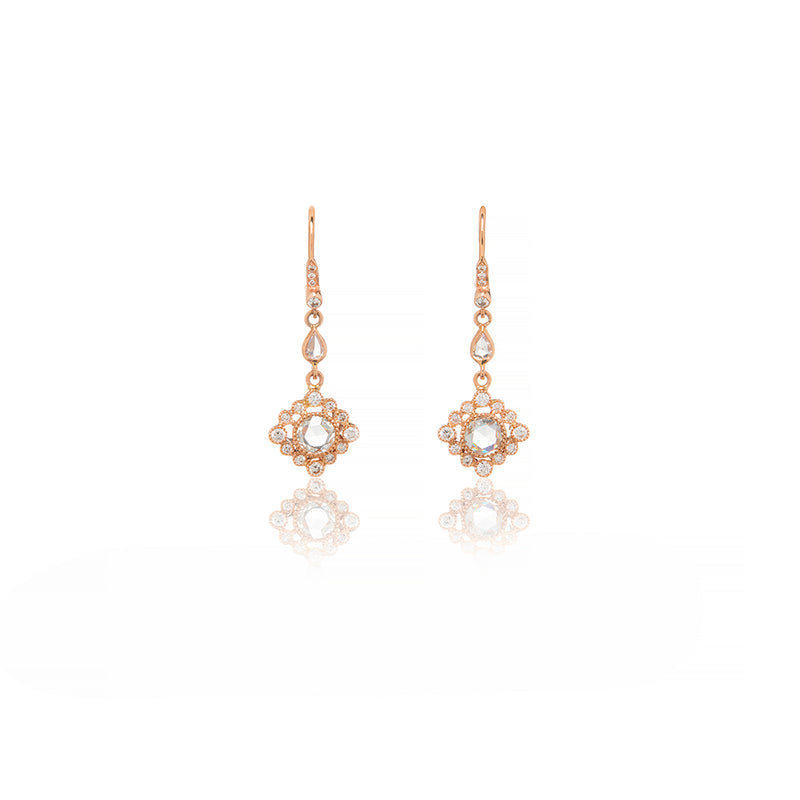 Gold Diamond Earrings - Sofia Jewelry