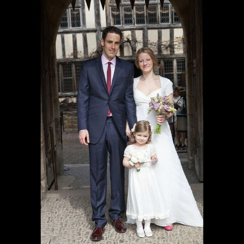 Tania Astor Family Wedding at Hever Castle