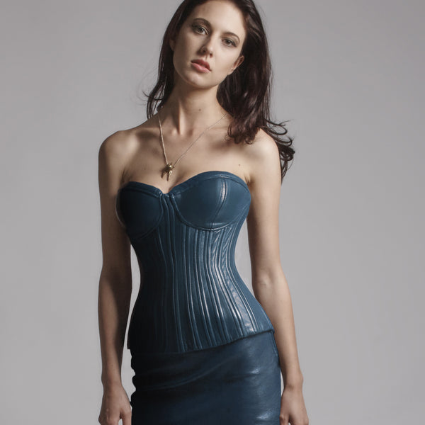 Penélope Leather Corset
