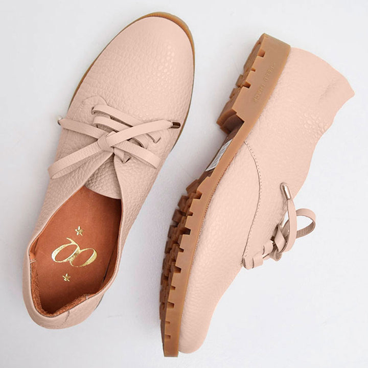 Rey Toronto Pardo Nude Leather Loafer