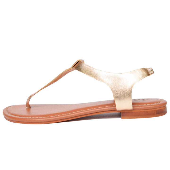 Basic Gold Sandal