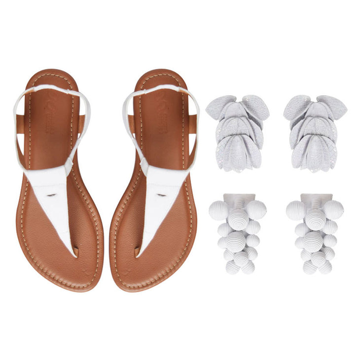 Panal Three-in-One White Sandal Kit