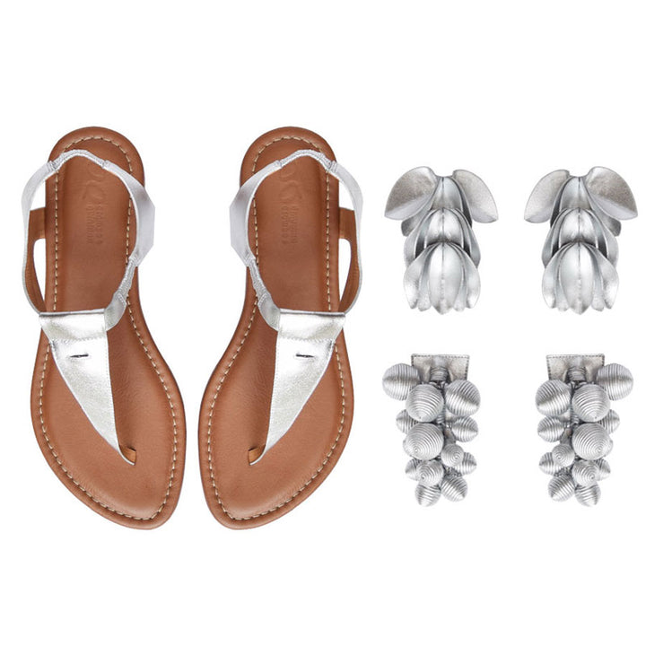 Panal Three-in-One Silver Sandal Kit