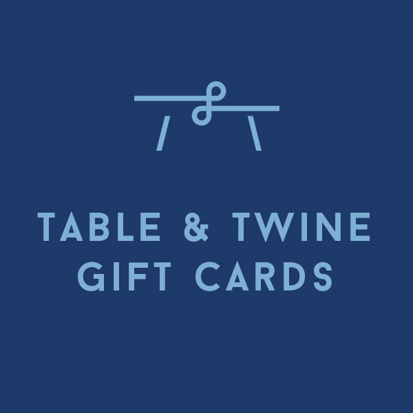 Table & Twine Charleston Gift Card (Multiple Themes Available)