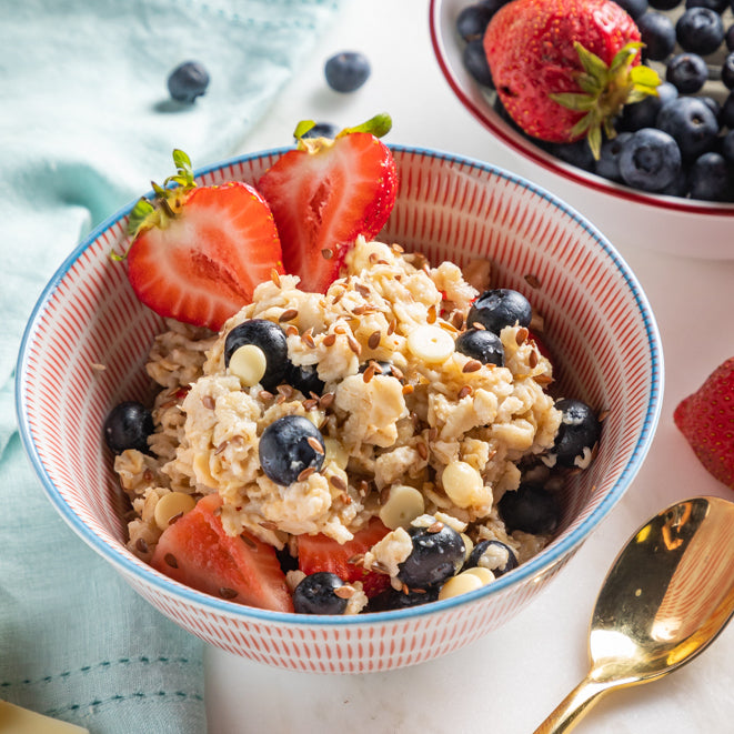Mixed Berry Oat Bowl