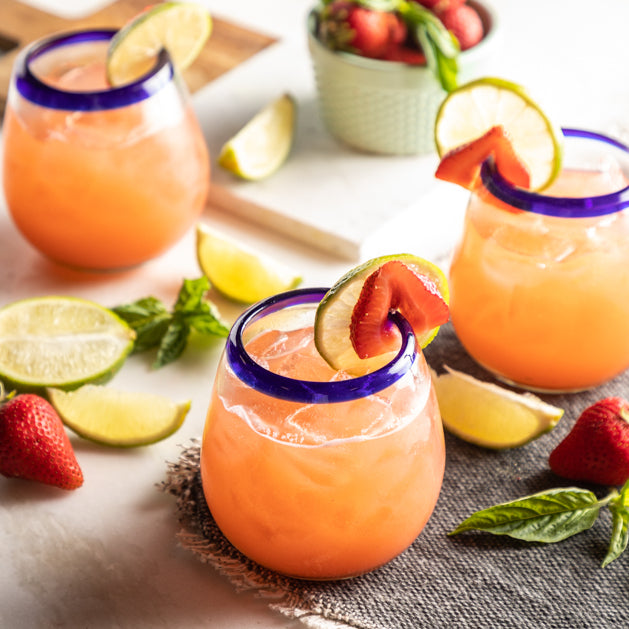Strawberry Basil Margarita Mix