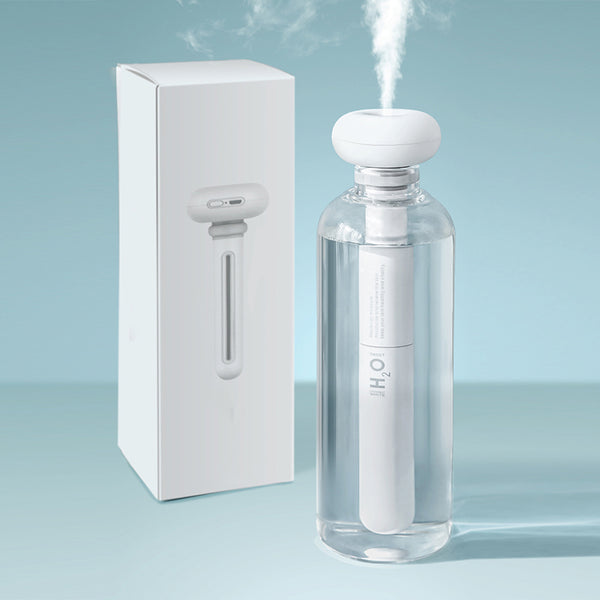 USB Portable Ultrasonic Cool Mist Humidifier and Bottle Kit