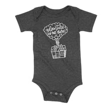 Load image into Gallery viewer, Adventure Is Out There Onesie