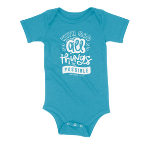 All Things Are Possible Onesie