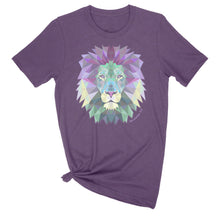 Load image into Gallery viewer, Geometric Lion, Revelation 5:5 Ladies' T-Shirt
