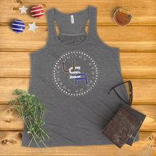 Load image into Gallery viewer, USA 50 Stars Ladies' Tank Top