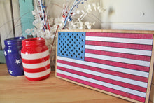 Load image into Gallery viewer, DIY 3D American Flag Sign