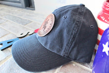 Load image into Gallery viewer, USA 50 Stars Genuine Leather Patch Hat