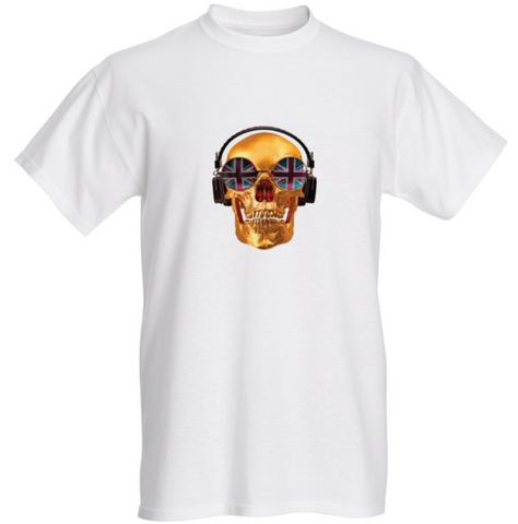 DJ Skull Men's T-Shirt