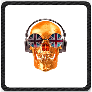 Skull Clothes Patch