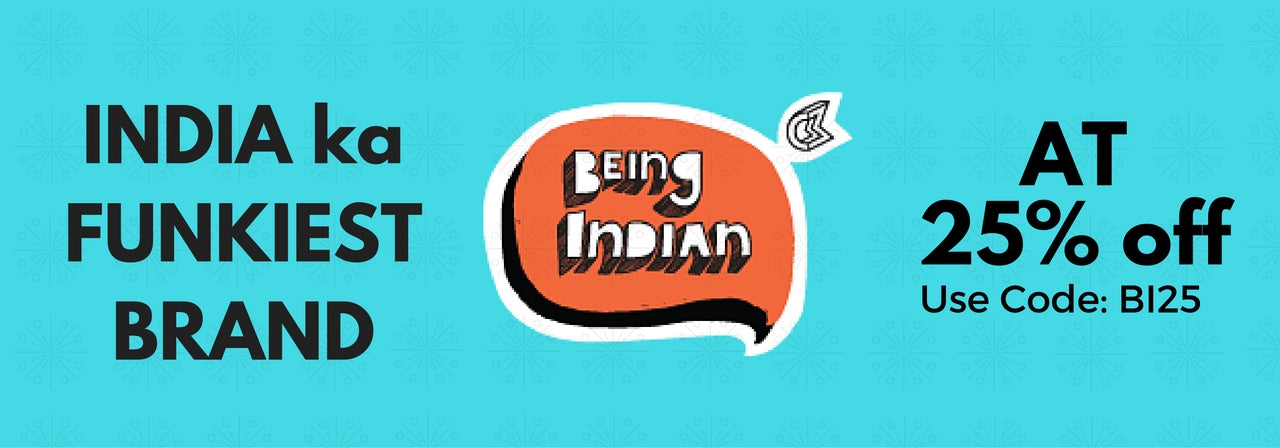 Buy Being Indian Official Merchandise Online in India | Gift Mugs | PosterGuy