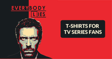 Buy TV Series Fan Art Cool Funk Designer T-Shirts Online In Inda | PosterGuy