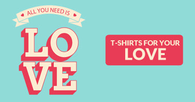 Buy Love T-Shirts | For Him. Boyfriend/ For Husband Online in India | PosterGuy