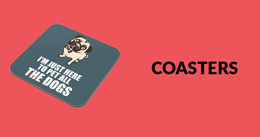 Buy Coasters Online in India | PosterGuy
