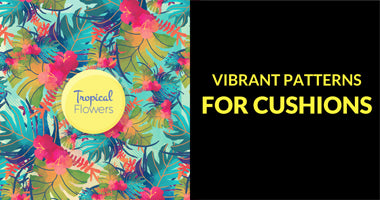 Buy Vibrant Patterns Cushion Covers Online In India | PosterGuy