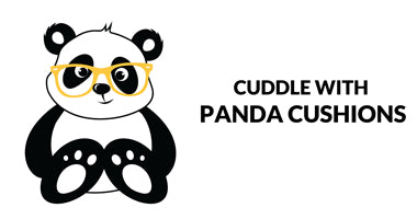 Buy Panda Cushion Covers in India | PosterGuy
