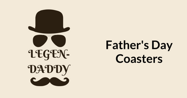 Buy Father's Day Coasters Online in India | Father's Day - 18th June 2017. Choose from what your Dad would love and see him smile as he owns the lovely gift from you this Father's Day. Father's Day gifts | Gifts for your dad | Unique present for your Dad | Browse an Buy posterguy collection and place order online in India. Father's Day gifts. Stuff for cool dads | For Father's Day treat your dad to something special with a present from posterguy Father's Day gift collection. ✓ FREE SHIP  ✓ QUALITY PRODUCT  ✓ FAST SHIP ✓ COD ✓ BEST PRICE