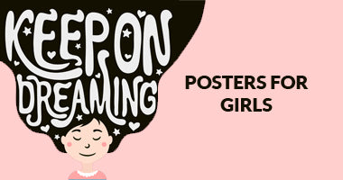 Buy Girly Posters for Girls Online In India | PosterGuy