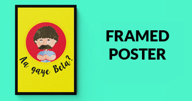 Buy Framed Posters Online in India | PosterGuy. Surprise your dad by showing up with Posterguy framed posters and make him feel special. Fathers Day Gifts | Gift idea for Dads | Father's day unique gifts | gifts for dad from son | gifts for dad from daughter |