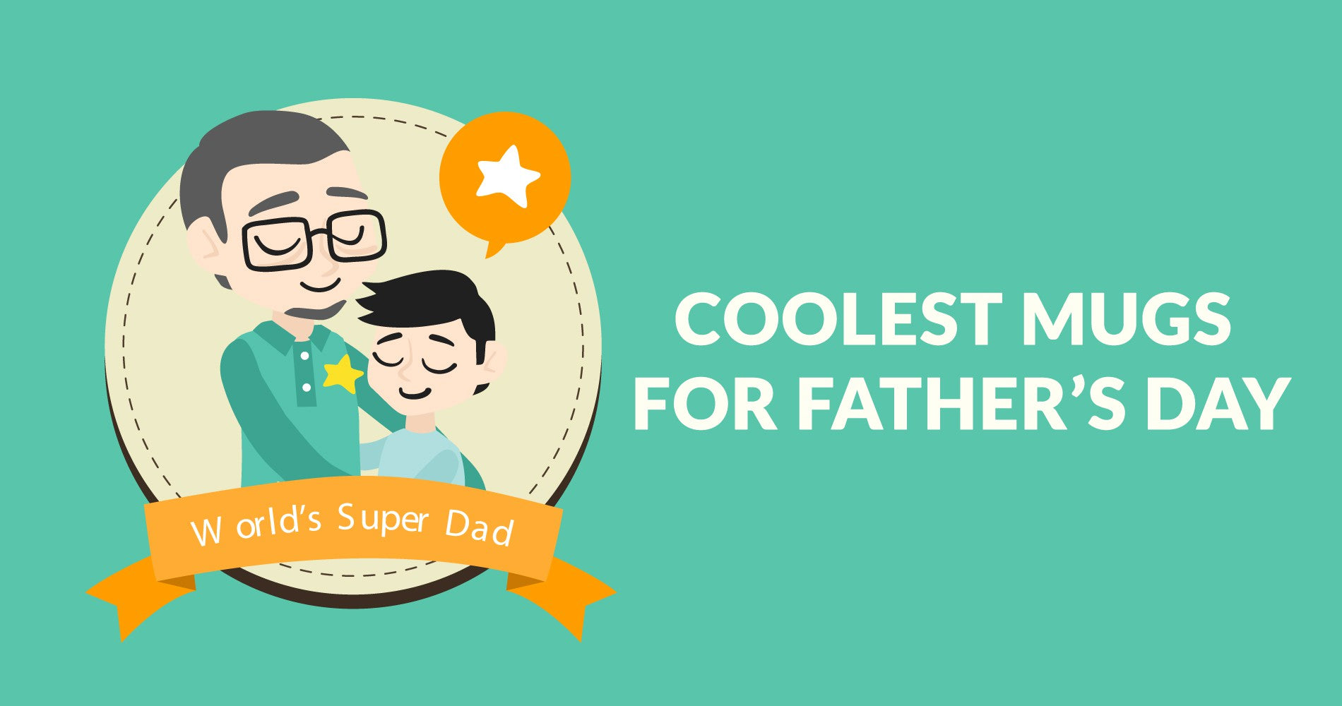 Buy Coffee Mugs for Dad/Father's Day Online in India | PosterGuy