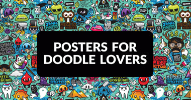 Buy Doodle Posters Online In India | PosterGuy