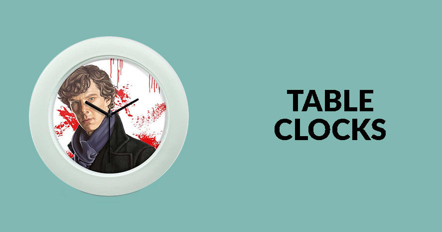 Buy Posterguy Collection of Table Clocks online at low prices in India. Table clocks make as a best gift for your dad on Father's day, Gifts for relatives, Gifts for friends, birthday gifts and for any occasion. ✓ FREE SHIP  ✓ QUALITY PRODUCT  ✓ FAST SHIP ✓ COD ✓ BEST PRICE