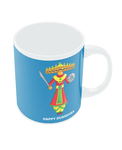 Happy Dussehra Ravan Mug