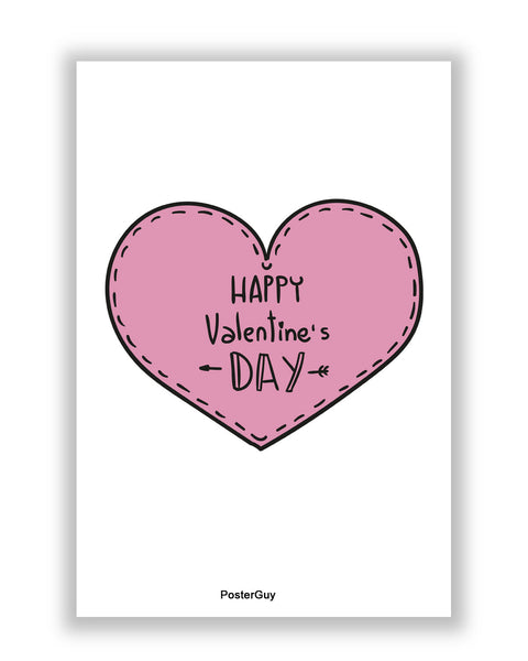 Buy Love Posters Online | Happy Valentine's Day A4 Poster | PosterGuy.in
