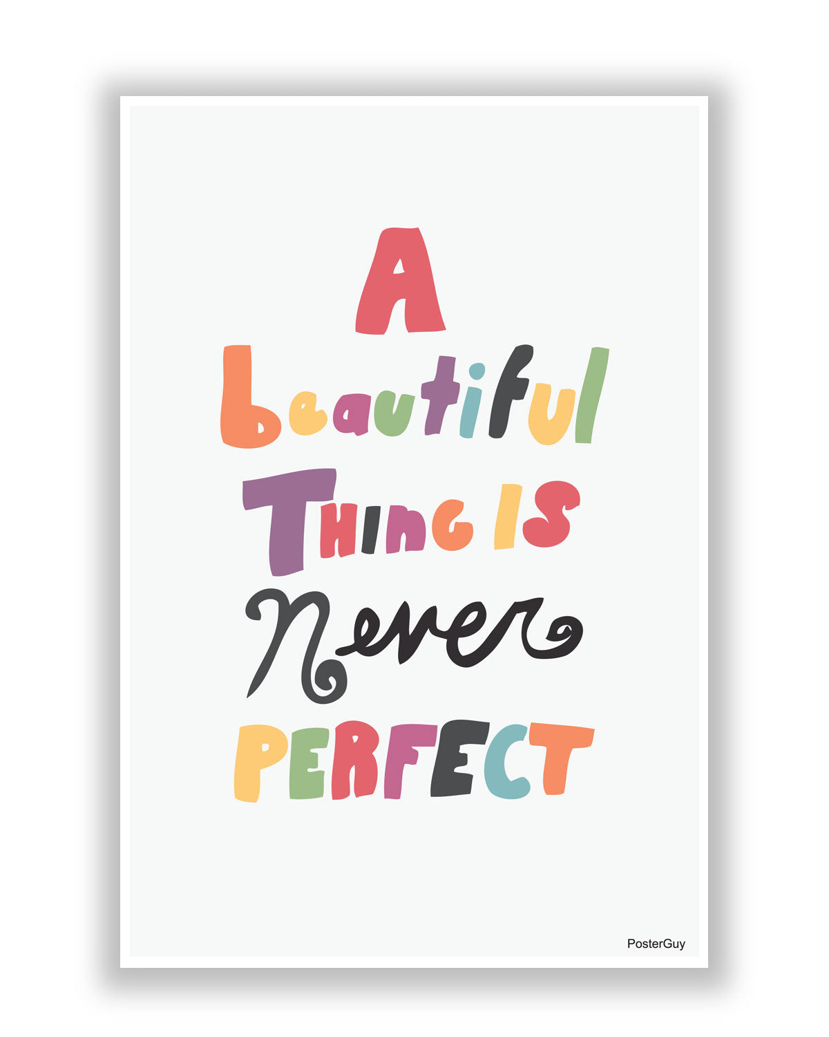 A Beautiful Thing Poster