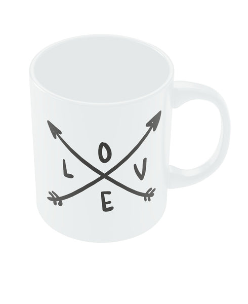 Love Arrow Valentine's Day Coffee Mug Online India