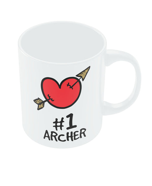 No. 1 Archer Valentine's Day Coffee Mug Online India