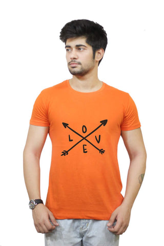 Buy Funny T-Shirts Online India | Love Arrow T-Shirt Funky, Cool, T-Shirts | PosterGuy.in