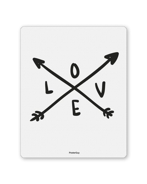 Mouse Pads | Love Arrow Valentine's Day Mouse Pad Online India | PosterGuy.in