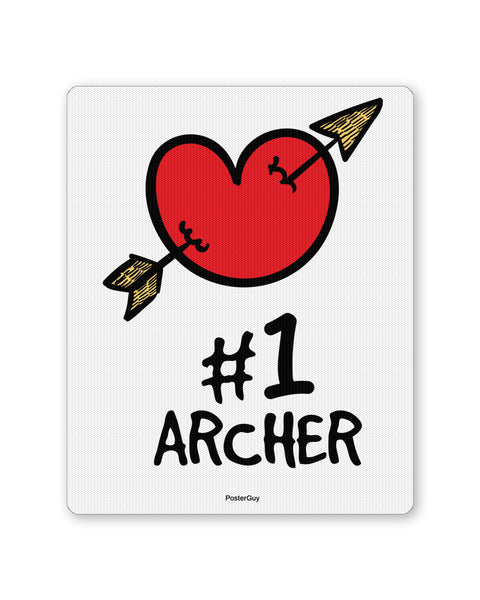 Mouse Pads | No. 1 Archer Valentine's Day Mouse Pad Online India | PosterGuy.in