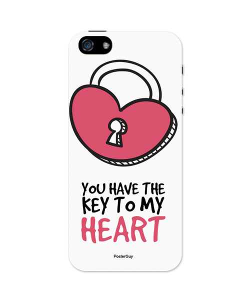 You are the Key to My Heart Valentine's Day iPhone 5/5S Case 2