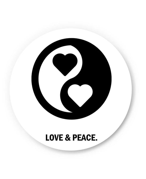 Love and Peace Valentine's Day Fridge Magnet Online India