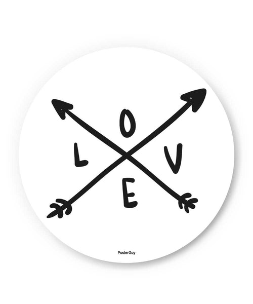 Love Arrow Valentine's Day Fridge Magnet Online India