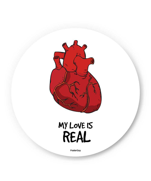 My Love is Real Valentine's Day Fridge Magnet Online India