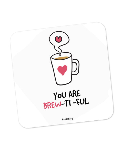 You are so Beautiful Valentine's Day Coaster Online India