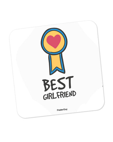 Best Girlfriend Valentine's Day Coaster Online India