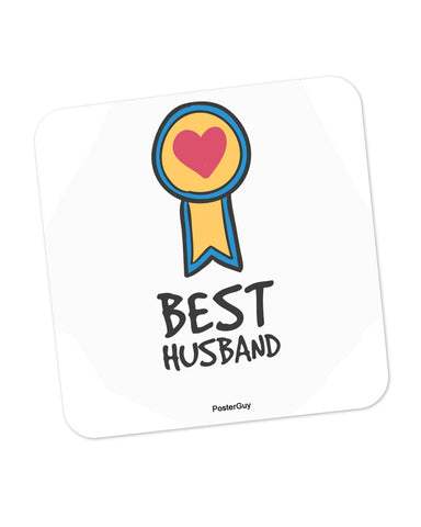Best Husband Valentine's Day Coaster Online India