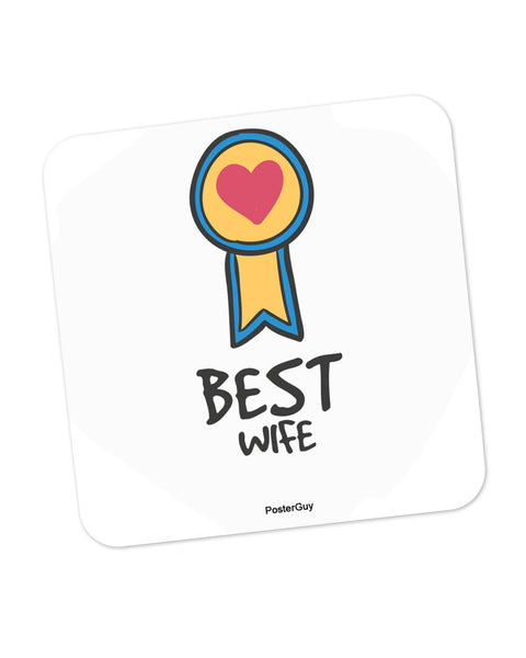Best Wife Valentine's Day Coaster Online India
