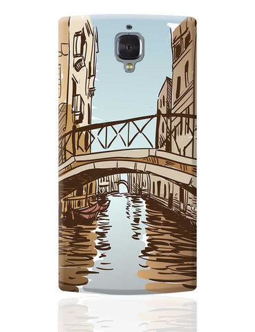 Venice City Digital Art Illustration OnePlus 3 Cover Online India