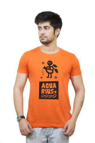 Buy Funny T-Shirts Online India | Aquarius | Zodiac Sign Gifts T-Shirt Funky, Cool, T-Shirts | PosterGuy.in